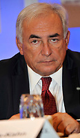 MONTREAL, CANADA - File Photo - Dominique Strauss-Kahn, Head of the International Monetary Fund attend the International Economical Forum of the Americas, on June 8, 2009<br /> <br /> Photo : agence quebec presse