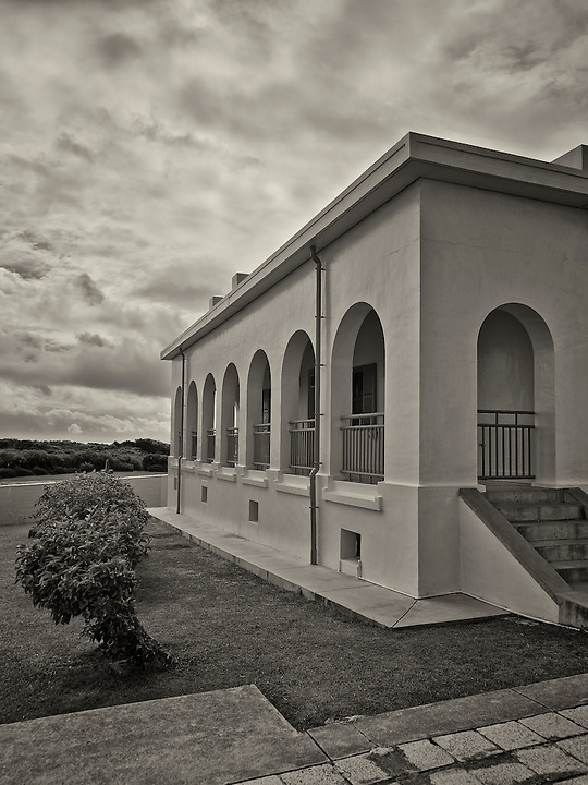 Senior Staff Residential Block, South Cape (Cape Eluanbi) Lighthouse And Fortified Complex.  Kenting, Taiwan.