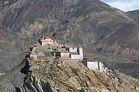 Deserted Fortress at Gyantse, Tibet