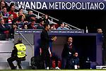 Atletico de Madrid's coach Diego Pablo Simeone during La Liga match. Mar 07, 2020. (ALTERPHOTOS/Manu R.B.)