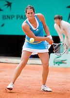 25-5-08, France,Paris, Tennis, Roland Garros,Sofia Arvidsson