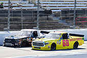 #68: Clay Greenfield, Clay Greenfield Motorsports, Toyota Tundra Rackley Roofing, #20: Spencer Boyd, Young's Motorsports, Chevrolet Silverado