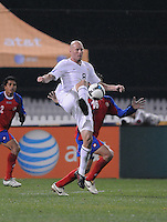 USMNT forward Conor Casey (8)   The USMNT tied Costa Rica 2-2 on the final game of the 2010  FIFA World Cup Qualifying round at RFK Stadium,Wednesday  October 14 , 2009.