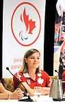 Stephanie Dixon, Toronto 2015.<br /> Highlights from Canada's Opening Ceremonies flag bearer annoucement // Faits saillants de l'annonce du porte-drapeau des cérémonies d'ouverture du Canada. 05/08/2015.