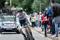 Matteo Fabbro (ITA/BORA - hansgrohe)<br /> <br /> 104th Giro d'Italia 2021 (2.UWT)<br /> Stage 1 (ITT) from Turin to Turin (8.6 km)<br /> <br /> ©kramon