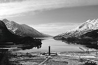 The Glenfinnan Monument and Loch Shiel, Glenfinnan, Lochaber