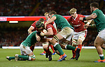 No way through for Wales Jake Ball<br /> <br /> Photographer Ian Cook/CameraSport<br /> <br /> 2019 Under Armour Summer Series - Wales v Ireland - Saturday 31st August 2019 - Principality Stadium - Cardifff<br /> <br /> World Copyright © 2019 CameraSport. All rights reserved. 43 Linden Ave. Countesthorpe. Leicester. England. LE8 5PG - Tel: +44 (0) 116 277 4147 - admin@camerasport.com - www.camerasport.com