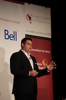 FILE PHOTO -  David Bensadoun at the Canadian Club of Montreal's podium in 2012.