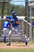 New York Mets Ivan Wilson (1) during a minor league spring training game against the Miami Marlins on March 30, 2015 at the Roger Dean Complex in Jupiter, Florida.  (Mike Janes/Four Seam Images)