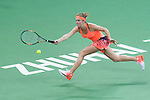 Elina Svitolina of Ukraine vs Kiki Bertens of Netherlands during their Singles Round Robin match at the Huajin Securities WTA Elite Trophy Zhuhai at the Hengqin International Tennis Centre on 01 November 2016 in Zhuhai, China. Photo by Marcio Rodrigo Machado / Power Sport Images