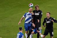 Philipp Hofmann (Karlsruher SC) gegen Patrick Herrmann (SV Darmstadt 98)<br /> <br /> - 26.02.2021 Fussball 2. Bundesliga, Saison 20/21, Spieltag 23, SV Darmstadt 98 - Karlsruher SC, Stadion am Boellenfalltor, emonline, emspor, <br /> <br /> Foto: Marc Schueler/Sportpics.de<br /> Nur für journalistische Zwecke. Only for editorial use. (DFL/DFB REGULATIONS PROHIBIT ANY USE OF PHOTOGRAPHS as IMAGE SEQUENCES and/or QUASI-VIDEO)