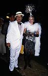 MASSIMO GARGIA ED EUGENIA DE SERIGNY'S<br /> FESTA VICTOR DANENZA - VILLA ARAUCARIA- CANNES 1988