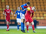 St Johnstone v Aberdeen…..24.11.19   McDiarmid Park   SPFL<br />Murray Davidson and Lewis Ferguson<br />Picture by Graeme Hart.<br />Copyright Perthshire Picture Agency<br />Tel: 01738 623350  Mobile: 07990 594431