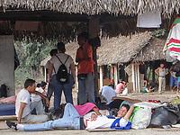 CUCUTA - COLOMBIA, 26-02-2019: Venezolanos tratan de pasar la frontera hacia Colombia días después que el gobierno de Nicolás Maduro cerrara la frontera entre estos dos países. / Venezuelan people try to cross the borde Venezuela Colombia after days of Maduro regimen closes the border between these countries. Photo: VizzorImage / Julio Colmenares / Cont