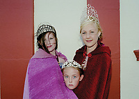 Queen of Skegness, Lincolnshire 2014, Chloe Brazier attended by Princess Jessica Davis and Rosebud Kimberley Ellis.