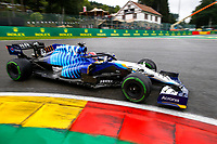 28th August 2021; Spa Francorchamps, Stavelot, Belgium: FIA F1 Grand Prix of Belgium, qualifying sessions;   63 George Russell GBR, Williams Racing
