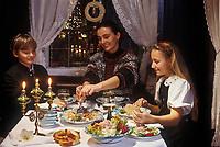 Europe/Autriche/Tyrol/Innsbruck: Souper de Noël dans une taverne