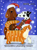 Kate, CHRISTMAS ANIMALS, WEIHNACHTEN TIERE, NAVIDAD ANIMALES, paintings+++++Christmas page 4 2,GBKM512,#xa#