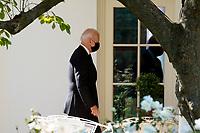 President Biden returns to the White House