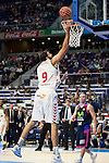 Laboral Kutxa's Ioannis Bourousis during Liga Endesa ACB at Barclays Center in Madrid, October 11, 2015.<br /> (ALTERPHOTOS/BorjaB.Hojas)