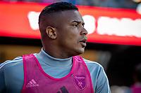 San Jose, CA - Saturday August 03, 2019: Harold Cummings #31 in a Major League Soccer (MLS) match between the San Jose Earthquakes and the Columbus Crew at Avaya Stadium.