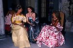 MARIE BRANDOLINI D'ADDA<br /> DICIOTTESIMO COMPLEANNO DI ELISABETTA DE BALKANY<br /> PALAZZO VOLPI     VENEZIA     AGOSTO  1990