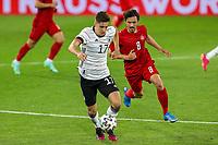 2nd June 2021, Tivoli Stadion, Innsbruck, Austria; International football friendly, Germany versus Denmark;  Florian Neuhaus 17 Germany and Thomas Delaney 8 Denmark