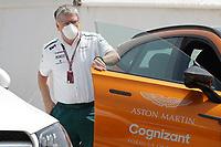 26th March 2021; Sakhir, Bahrain; F1 Grand Prix of Bahrain, Free Practice sessions;  SZAFNAUER Otmar (rom), Team Principal and CEO of Aston Martin F1 during Formula 1 Gulf Air Bahrain Grand Prix