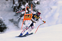 19th December 2020; Saslong, Val Gardena, Tyrol, Italy; International Ski Federation Alpine Ski World Cup, 2nd Men's Downhill, Val Gardena; Matthieu Bailet (FRA)