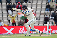 Kyle Jamieson, New Zealand drives into the off side during India vs New Zealand, ICC World Test Championship Final Cricket at The Hampshire Bowl on 22nd June 2021