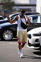 Rapper Nelly With A BIg Gulp in Hollywood