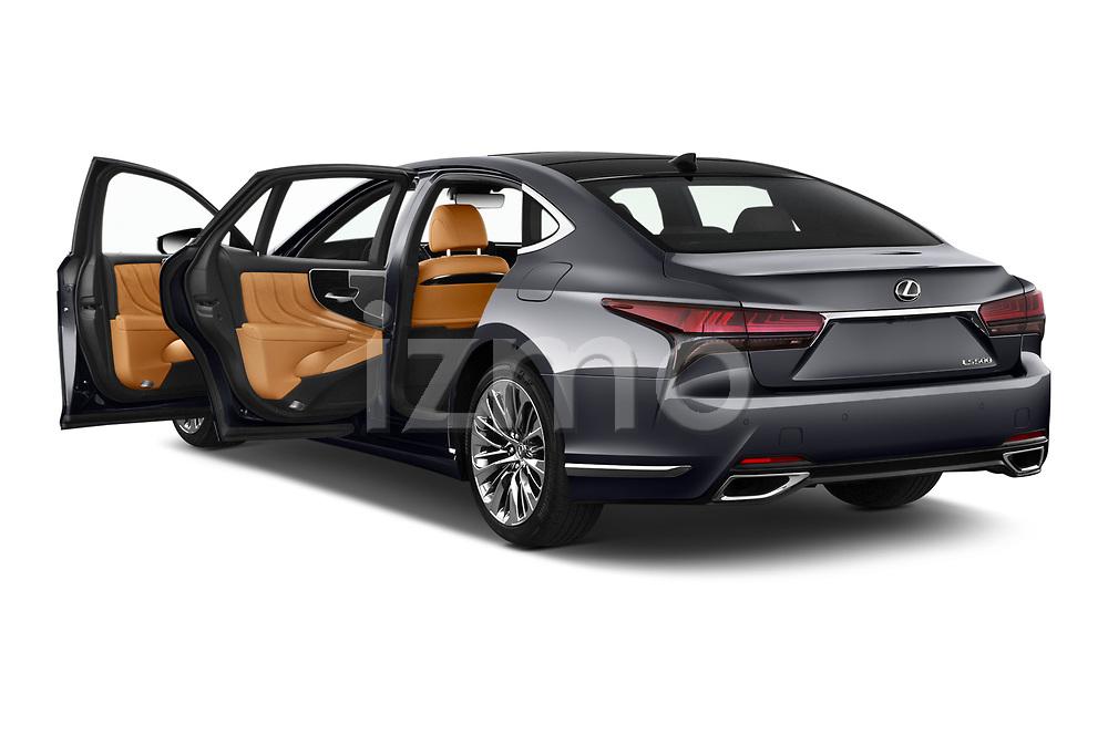 Car images of 2021 Lexus LS 500 4 Door Sedan Doors