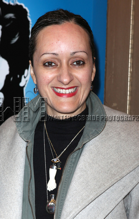 Isabel Toledo.attending the Broadway Opening Night Performance of  'Ghetto Klown'  at the Lyceum Theatre in New York City.