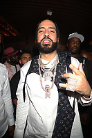NEW YORK, NY- SEPTEMBER 12: French Montana pictured at Swizz Beatz Surprise Birthday Party at Little Sister in New York City on September 12, 2021. Credit: Walik Goshorn/MediaPunch