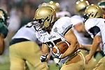 Wofford Terriers fullback Caleb Lucas (35) in action during the game between the Wofford Terriers and the Baylor Bears at the Floyd Casey Stadium in Waco, Texas. Baylor defeats Woffard 69 to 3.