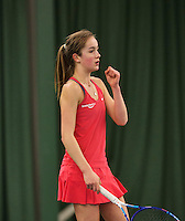 Rotterdam, The Netherlands, March 20, 2016,  TV Victoria, NOJK 14/18 years, Julie Belgraver (NED)<br /> Photo: Tennisimages/Henk Koster