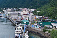 Downtown, Junaeau, Alaska, USA
