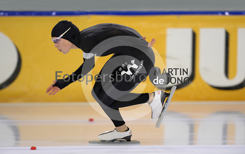 SCHAATSEN: HEERENVEEN, IJsstadion Thialf, 03-10-2020, Jutta Leerdam, 1000m 1.14,84, ©foto Martin de Jong