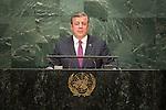 Georgia<br /> H.E. Mr. Giorgi Kvirikashvili<br /> Prime Minister<br /> <br /> General Assembly Seventy-first session 10th plenary meeting<br /> General Debate
