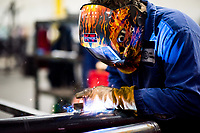 Maple Grove Minnesota Pipe Fabricators Manufacturing industrial photography - welding photos and fire suppression metal work and manufacturing processes - commercial photography