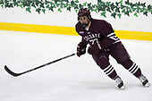 Tyler Jeanson (Colgate - 22) - The visiting Colgate University Raiders shut out the Harvard University Crimson for a 2-0 win on Saturday, January 27, 2018, at Bright-Landry Hockey Center in Boston, Massachusetts.
