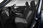 Front seat view of a 2020 KIA Soul  X-Line 5 Door Hatchback front seat car photos