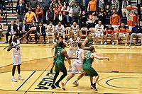 SAN ANTONIO, TX - FEBRUARY 1, 2018: The University of Texas at San Antonio Roadrunners defeat the Marshall University Thundering Herd 81-77 at the UTSA Convocation Center. (Photo by Jeff Huehn)