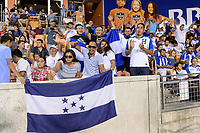 Houston, TX - Tuesday July 11, 2017: Honduras Fans at the Honduras and French Guiana game in Group A action during a 2017 CONCACAF Gold Cup match played at BBVA Compass Stadium.