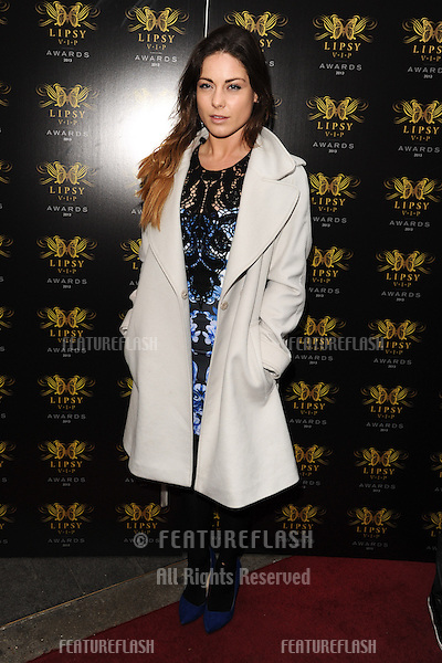 Louise Thompson arriving for the Lipsy Fashion Awards,  at Dstrkt, London. 29/05/2013 Picture by: Steve Vas / Featureflash