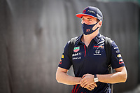 16th July 2021; Silverstone Circuit, Silverstone, Northamptonshire, England; Formula One British Grand Prix, and Qualifying;  VERSTAPPEN Max (ned), Red Bull Racing Honda RB16B