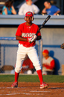 August 5, 2009:  Michael Swinson of the Batavia Muckdogs during a game at Dwyer Stadium in Batavia, NY.  The Muckdogs are the Short-Season Class-A affiliate of the St. Louis Cardinals.  Photo By Mike Janes/Four Seam Images