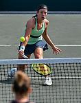 April 6,2018:  Anastasia Sevastova (LAT) defeated Kristyna Pliskova (CZE) 6-4, 6-0, at the Volvo Car Open being played at Family Circle Tennis Center in Charleston, South Carolina.  ©Leslie Billman/Tennisclix/CSM
