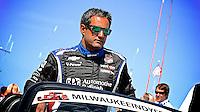 Juan Pablo Montoya, Milwaukee Indy Fest 250, Milwaukee Mile Speedway, Milwaukee, WI, August 2014.  (Photo by Brian Cleary/www.bcpix.com)