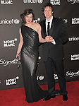 February 20,2009: Milla Jovovich & husband at The Montblanc Signature for Good Charity Gala held at Paramount Studios in Hollywood, California. Credit: RockinExposures